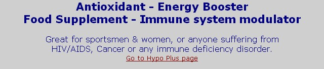 Antioxidant - Energy Booster